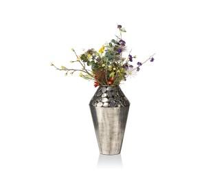 cma gry vaas pebble h front bloem