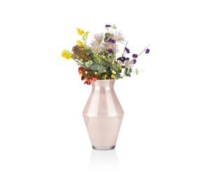 cma roz vaas sienna h front bloem