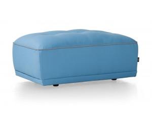 Pouf bleu personnalisable