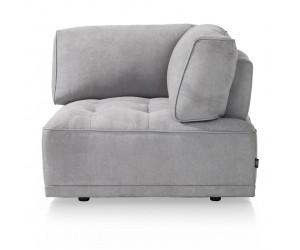 Module d'angle canapé gris personnalisable