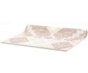 Tapis en laine à formes géométriques