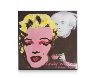 Tableau Marilyn Monroe et Andy Warhol