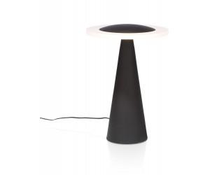 Lampe à poser noire et blanche design