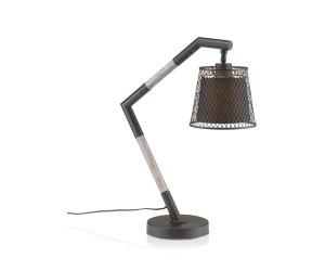 Lampe bureau noire et grise