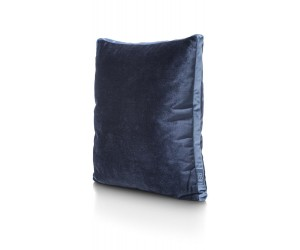 coussin carré salon bleu