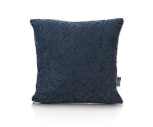 Coussin carré bleu