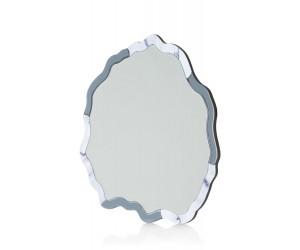 Miroir rond bords nuage