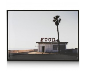 Affiche encadrée fast-food californien