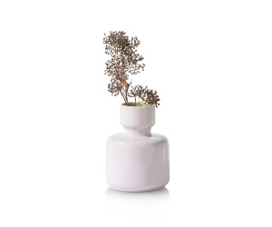 Vase rose pastel en céramique