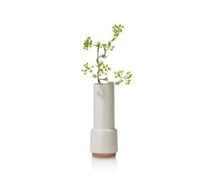 Vase minimaliste blanc en céramique