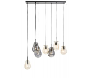 Suspension luminaire multiples ampoules