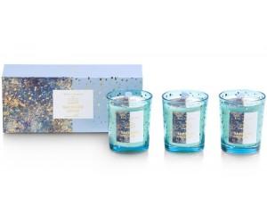 Petites bougies bleu turquoise