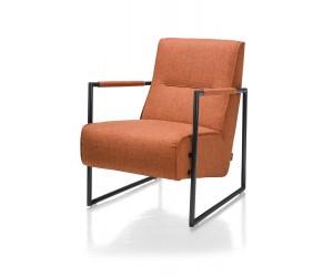 Fauteuil design orange