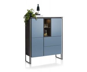 Buffet haut design bleu