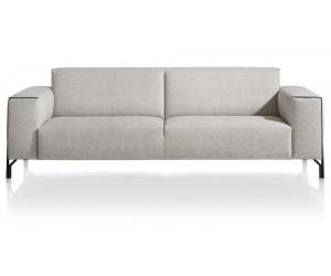 Canapé 3,5 places gris