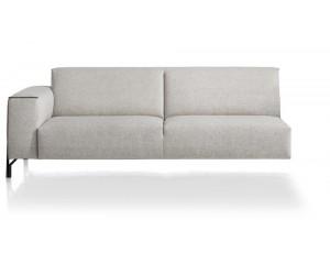 Canapé d'angle élément 3,5 places avec accoudoir