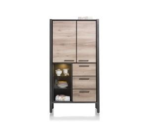 armoire moderne style bois et métal