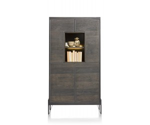 Armoire marron carbone contemporaine