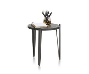 Table d'appoint ronde contemporaine