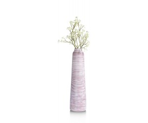 Vase haut tendance rouge