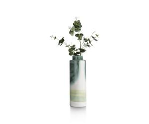Vase haut contemporain tricolore