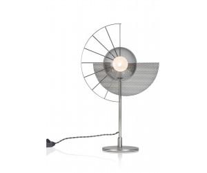 Lampe design en métal chromé avec variateur d'intensité intégré