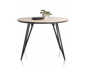 Table de bar ronde scandinave piétement design