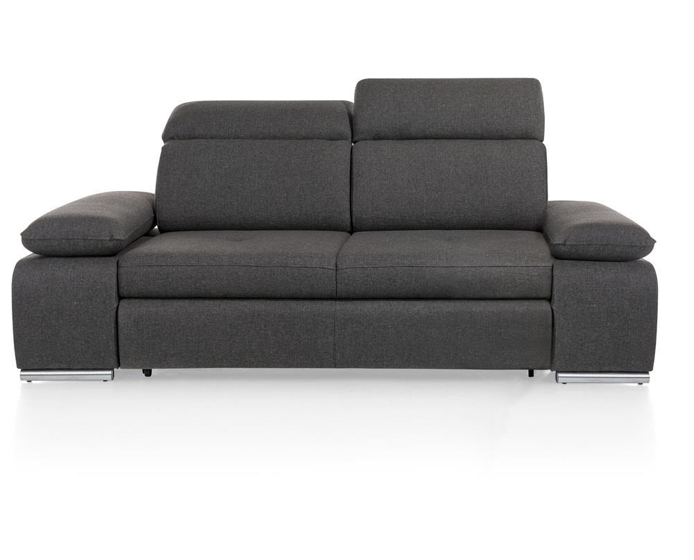 Canapé 2,5 places gris