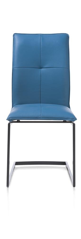 Chaise design bleue