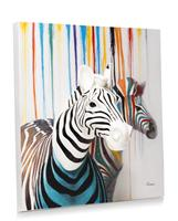 YOU D zebra couple schilderij persp