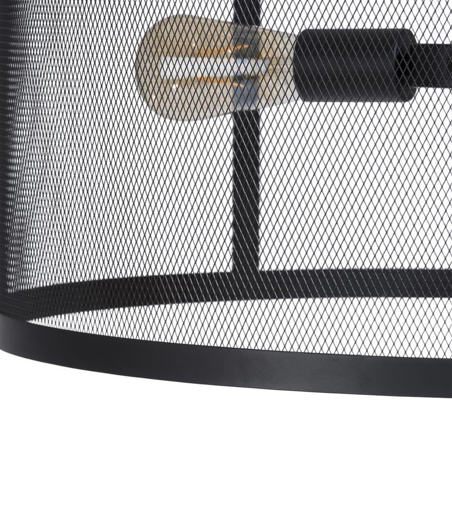 Suspension luminaire noire