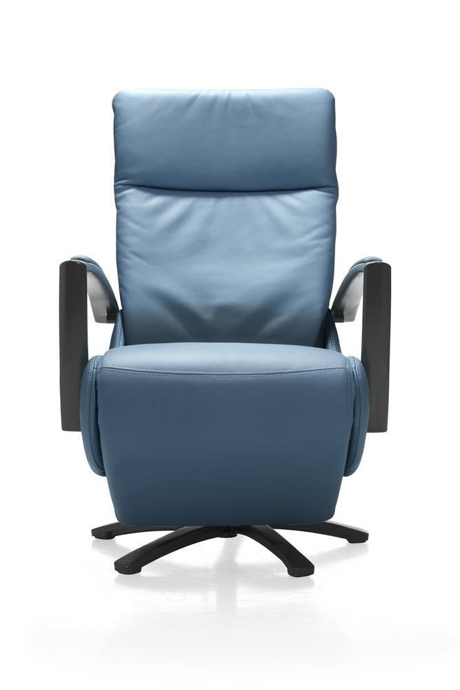 Fauteuil de relaxation électrique couleur bleu
