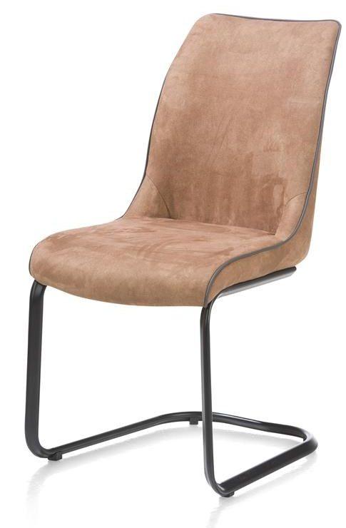 Chaise marron