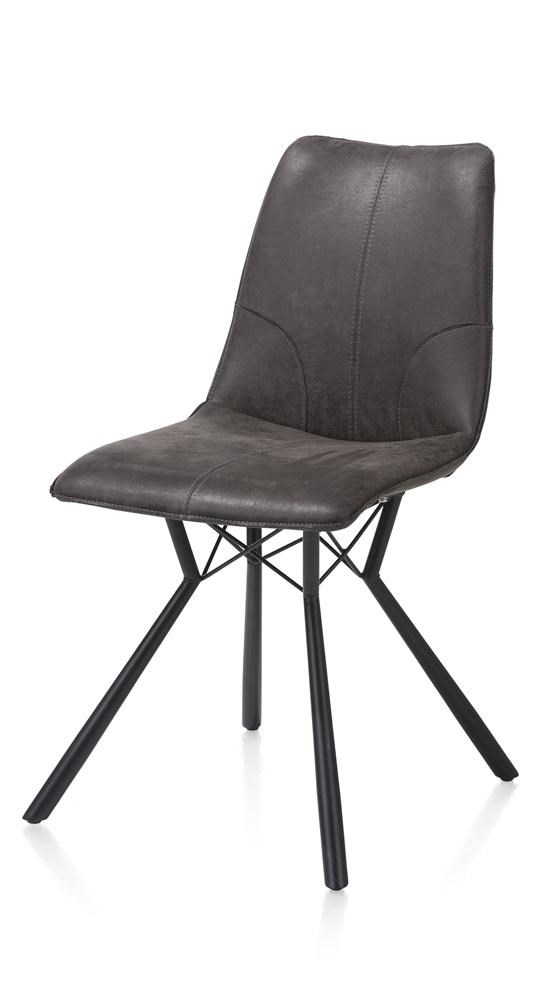 Chaise noire design