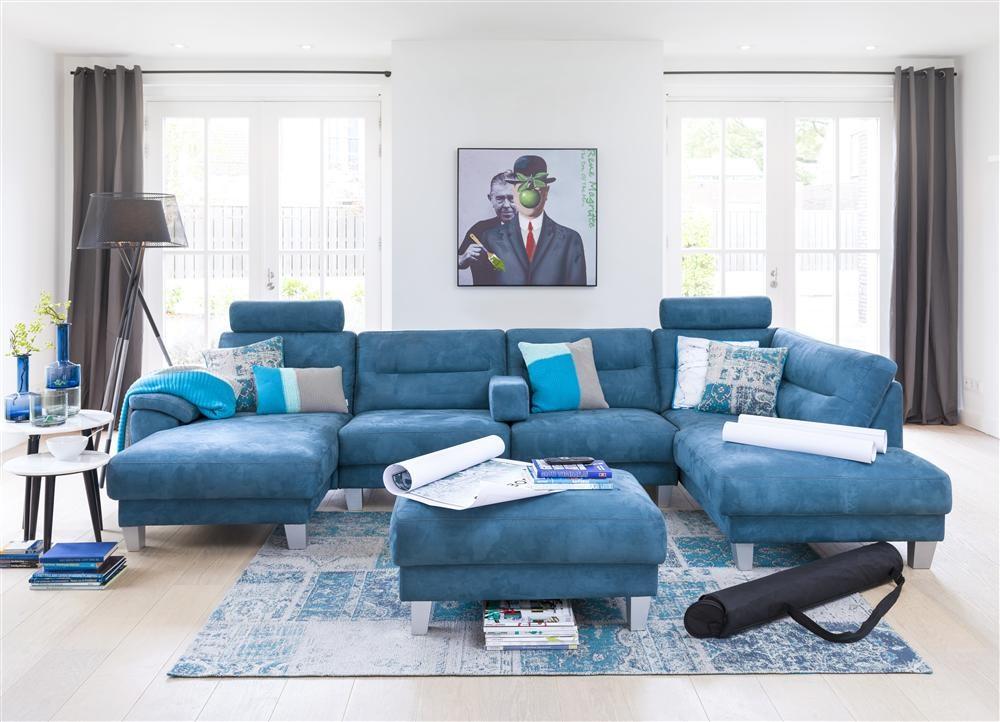 ambiance salon bleu