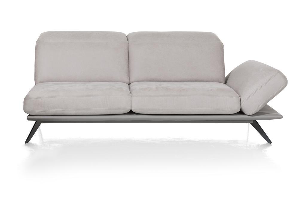 Canapé design gris clair