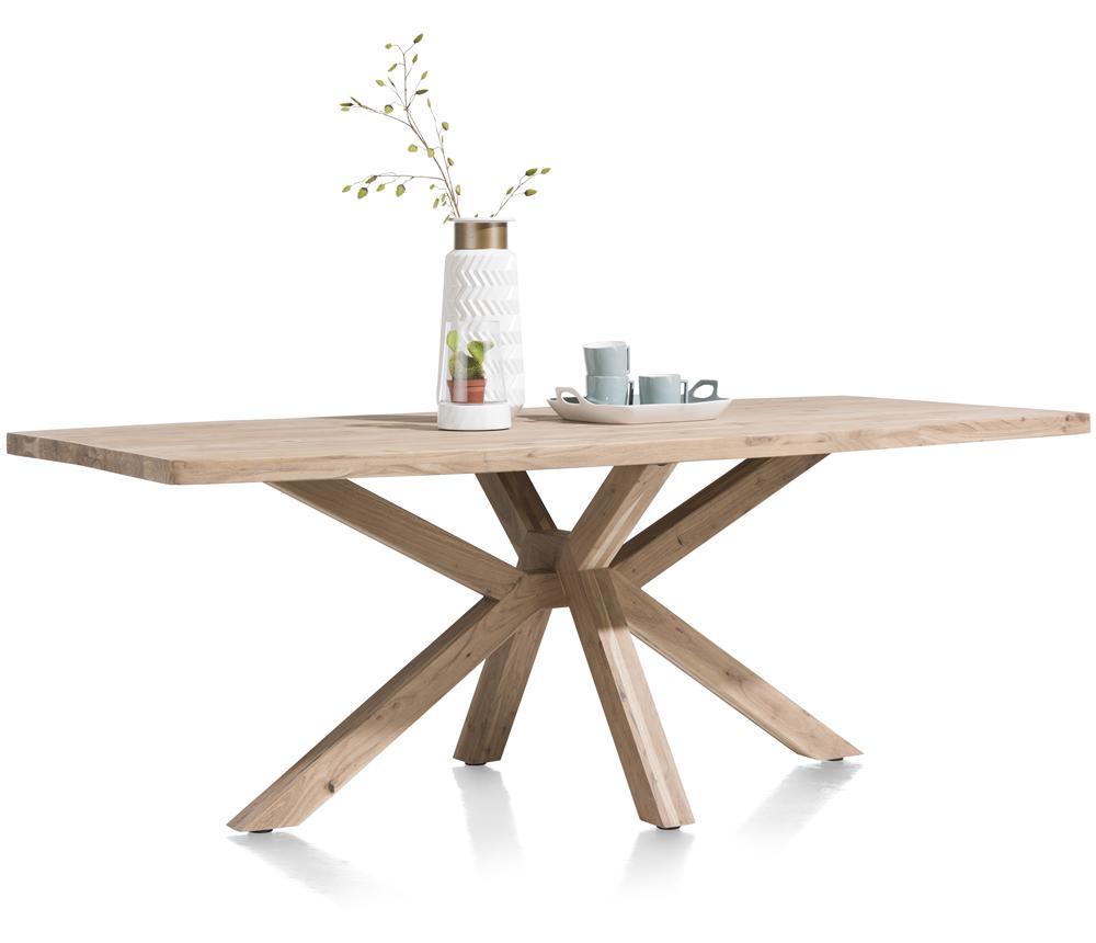 Table rustique et design bois de kikar