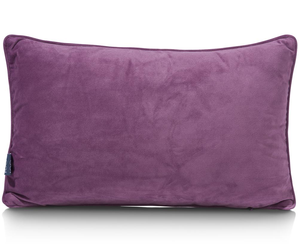 Coussin rectangulaire violet chic