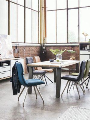 ambiance aménagement salle à manger industrielle