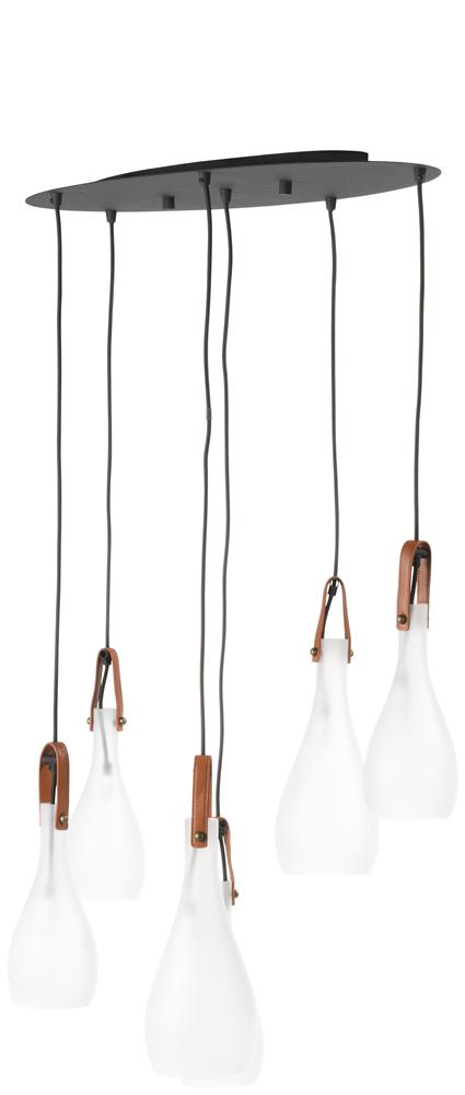Suspension luminaire 6 ampoules