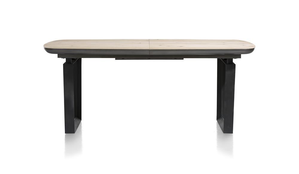 Table de repas à rallonge en bois