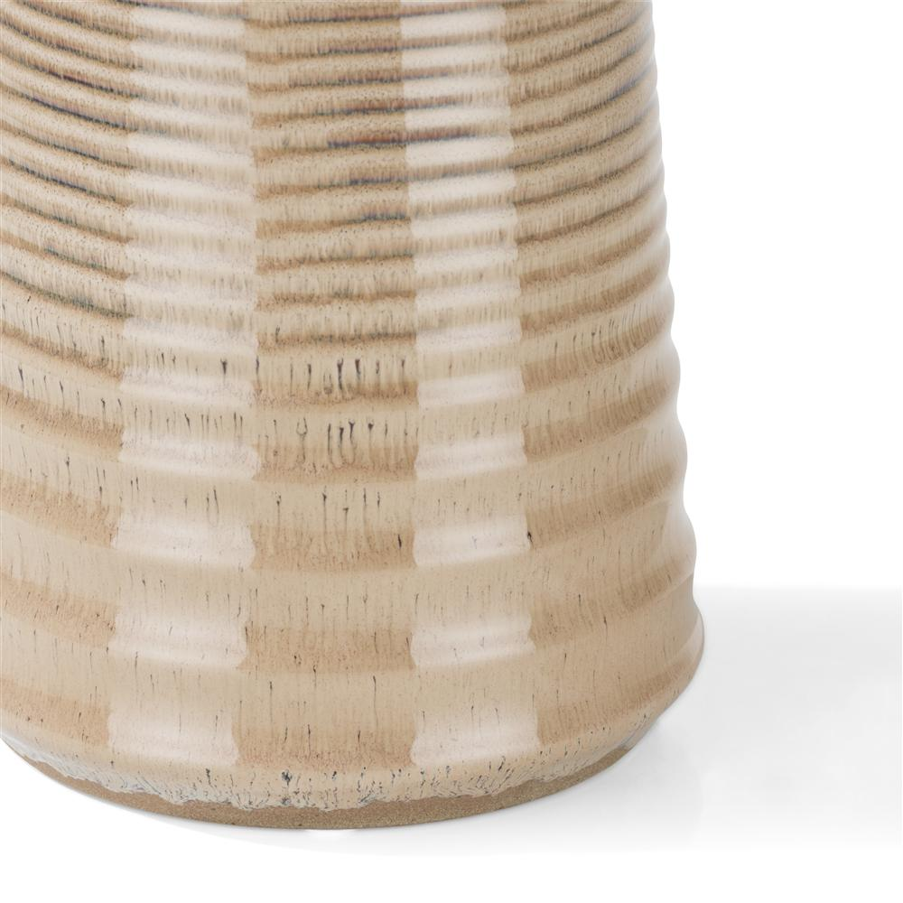 Vase beige en céramique