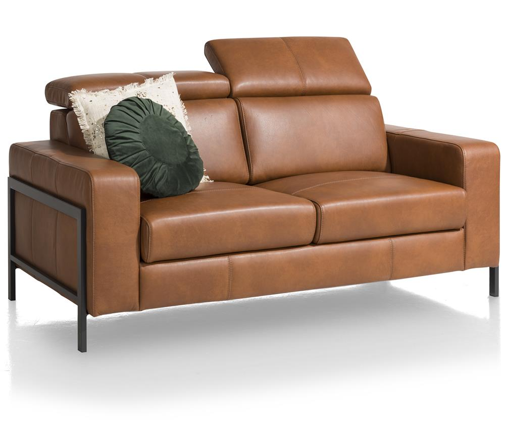 Canapé cuir camel relaxant