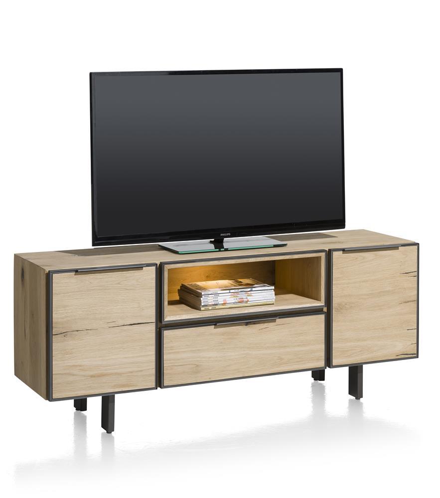 meuble tv pedro 150x42 h h home villa. Black Bedroom Furniture Sets. Home Design Ideas