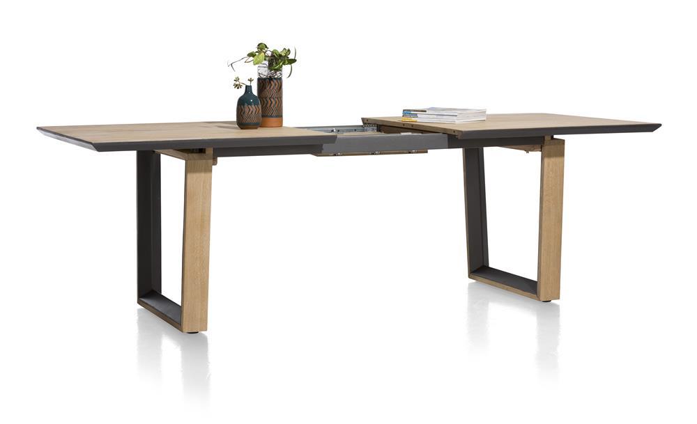 Table de repas à rallonge design en bois