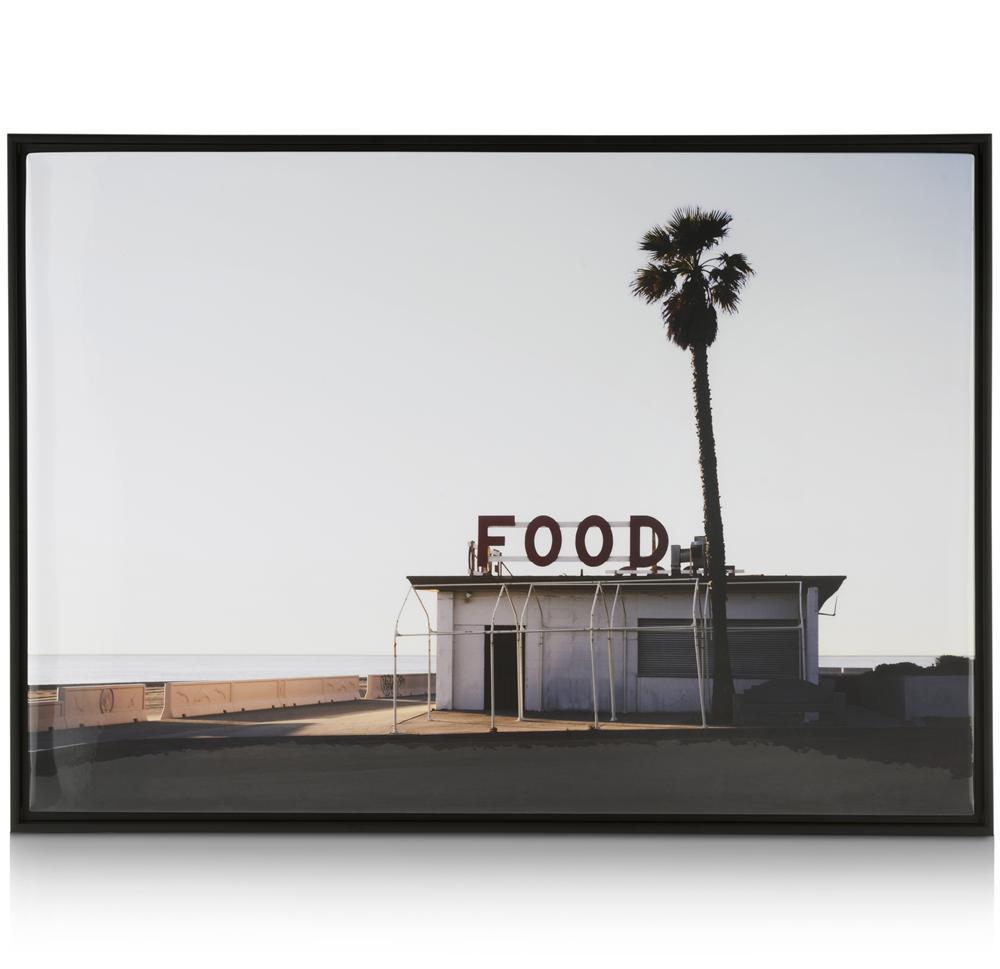 Affiche encadrée fast-food californien