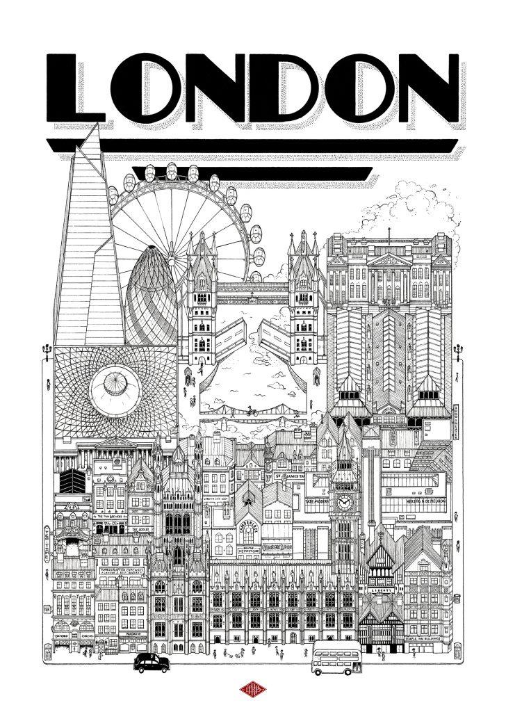 Tableau London Docteur Paper