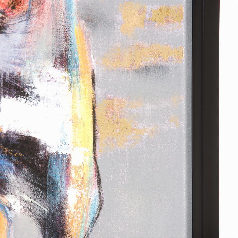 Peinture 3 chevaux colorés