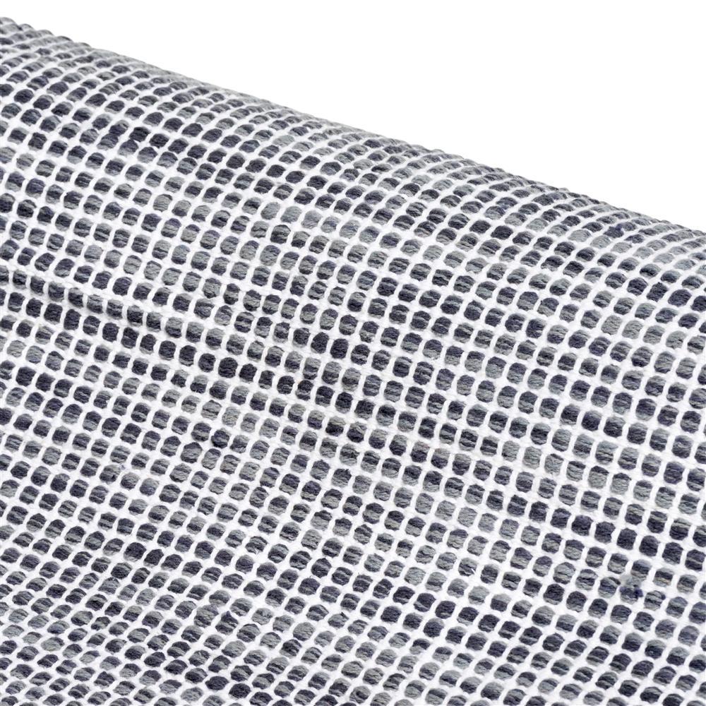 Tapis rectangulaire gris