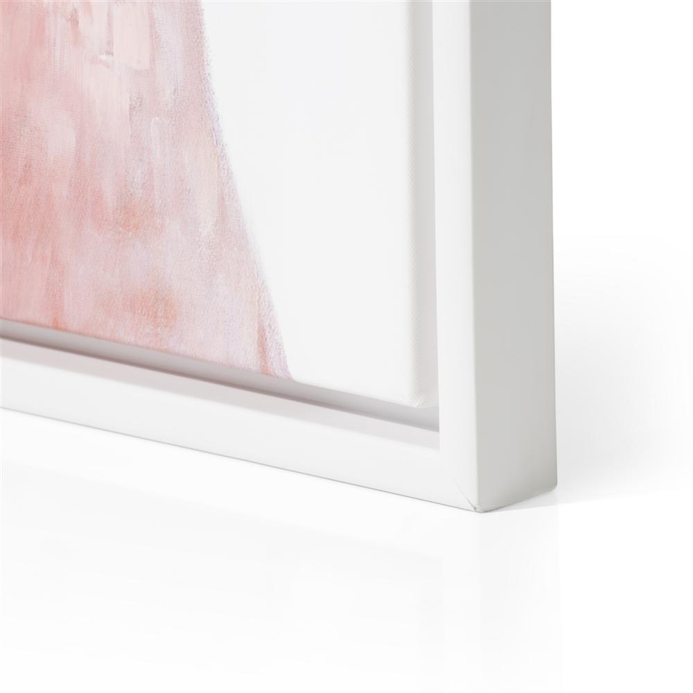 Peinture tête perroquet rose